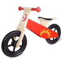 Classic World Red Balance Bike