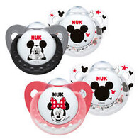 Nuk Soother Disney Mickey Silicone 2 pack