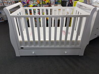 Jolly Jumper Cambridge Sleigh Cot + Draw (pick up only)