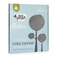 Eco Sprout Organic Cotton Cellular Baby Blanket