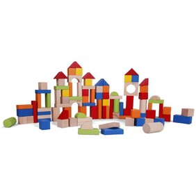 Classic World 100 piece Barrel of Blocks