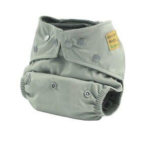 Binnie Baby Bamboo Charcoal Nappy - Grey