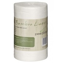 Pea Pods 100% Bamboo Nappy Liners