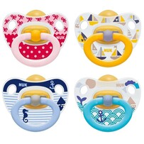 Nuk Soother Classic Latex 2pk