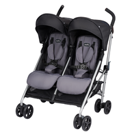 Evenflo Minno Twin Double Stroller (Glenbarr Grey)