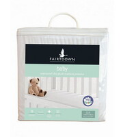 Fairydown Baby Mattress Protector Ultra Plush