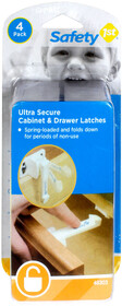 Safety 1st Ultra Secure Cabinet & Drawer Latches